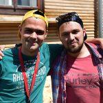 Twee vrijwilligers mannen